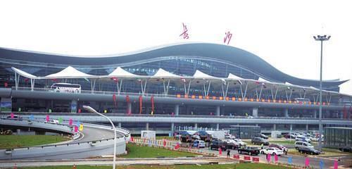 长沙黄花机场行李车电子屏竖条广告(100台)