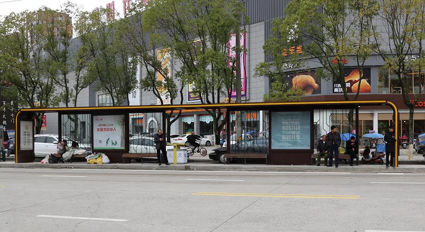 温州乐清市公交站台