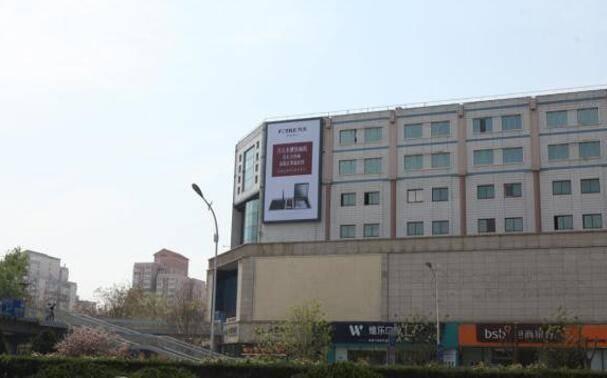 北京东三环劲松桥海文大厦户外墙体大牌广告特惠!