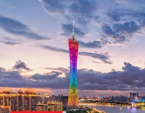 广州地标广州塔灯光秀广告投放价格