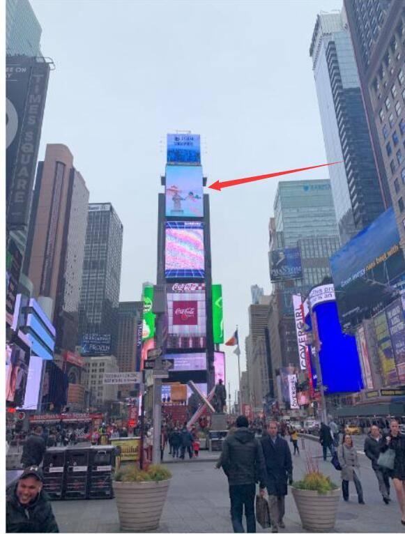 纽约时代广场2号楼中国屏广告代理发布。