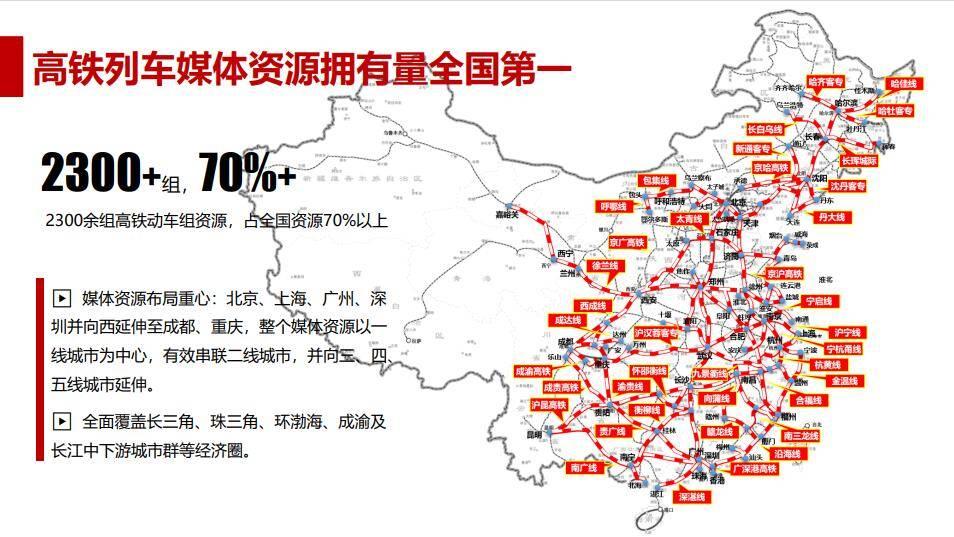 京哈高铁头巾广告特惠-哈大高铁列车电视广告特惠