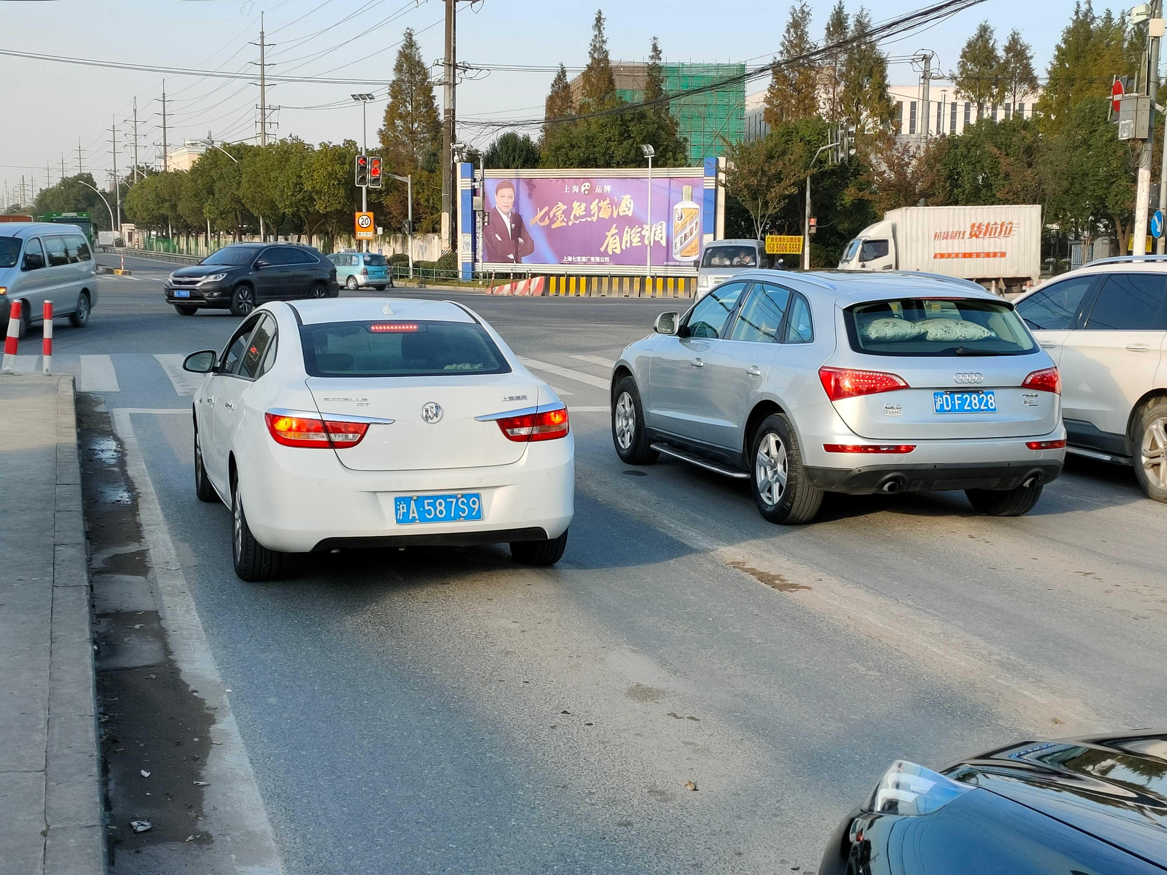 上海312国道曹安公路广告位