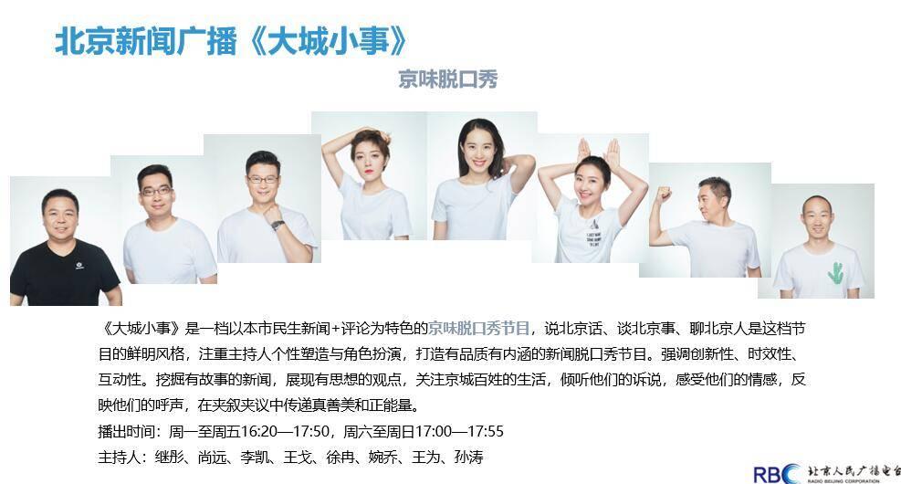 北京新闻广播《北京新闻》和《健康北京》栏目广告优势代理
