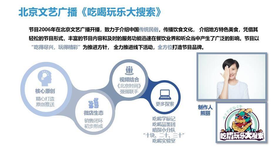 北京文艺广播《吃喝玩乐大搜索》广告代理发布