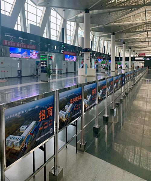 北京天通苑地铁公交长途交通枢纽候车大厅围栏广告位招商