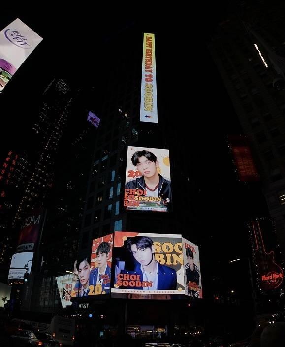 纽约时代广场路透社LED屏