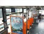 深圳公交车框架看板,语音报站冠名