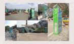 北京东石林峡景区内广告位